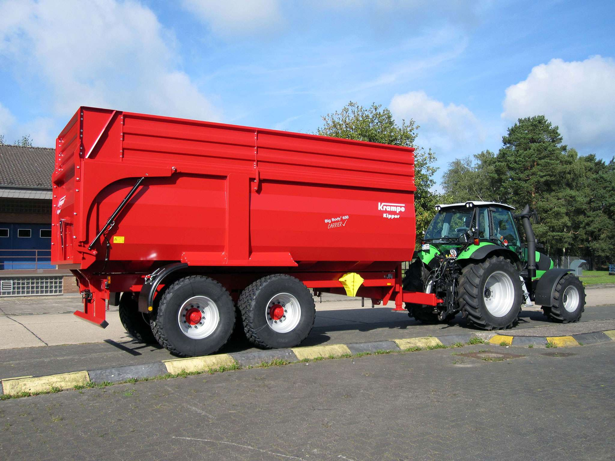 Produktfoto Big Body 650 Carrier